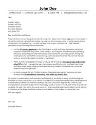 Cover Resume Cover Letter Sales