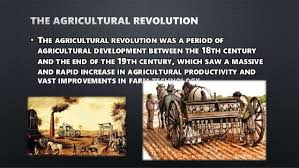 the agricultural and the industrial revolutions in britain  6 • the agricultural revolution