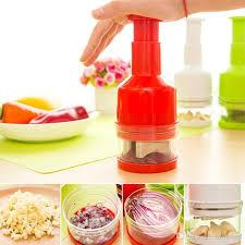 2018 vegetable cutter hand pressure kitchen garlic chopper