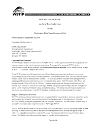 Cleaning Proposal Template Cleaning Bids Templates Akba Greenw Co With Sample Proposal For