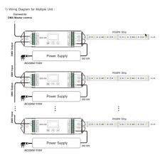 led controller dmx digital 4x5a lt 820 5a DMX RJ45 Connector Wiring Dmx Control Wiring Diagram #46