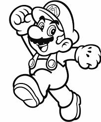Official Mario Coloring Pages Gonintendo