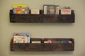 wood wall shelf ideas shelves with metal brackets