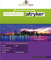 Stryker Organizational Chart Stryker Org Charts By Orgchartcity