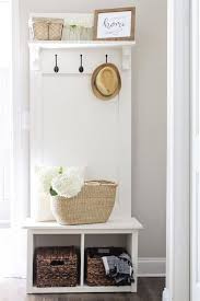 an entryway hall tree bench that is perfect for providing organization for small spaces it amazing entryway furniture hall tree image