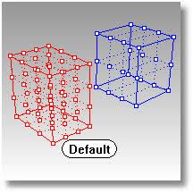 cage Команда cage Клетка создает объект по форме параллелепипеда У получившегося объекта клетки имеются контрольные точки в трех направлениях