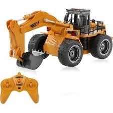<b>Радиоуправляемый</b> экскаватор <b>HuiNa Toys</b> масштаб 1:16 2.4G ...