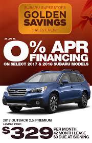 2018 subaru 0 financing.  2018 As Low As 0 APR Financing On Select 2017 U0026 2018 Subaru Models During The  Superstore Golden Savings Sales Event Inside Subaru 0 Financing