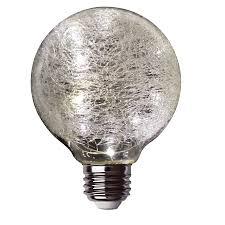 Crackle Glass Light Led Fairy Light Crackle Glass Globe Feit Electric
