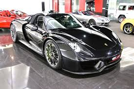 porsche 918 spyder black. black porsche 918 spyder for sale car a