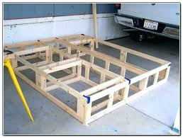 California King Bed Frame Cal King Bed Frame With Storage Cherry ...