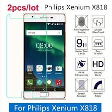 Tempered Glass For Philips Xenium X818 ...