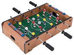 Miniature Wooden Foosball Table Game Trademark Games Mini Table Top Foosball Accessories Reviews 1