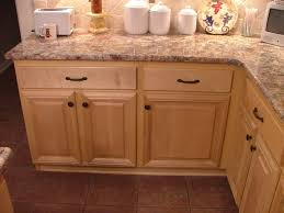 Light Brown Colored Design Of Wooden Maple In Kitchen Cabinets Design In  Natural Colored Ideas For L Shapes Of Kitchen Cabinets