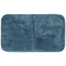 mohawk home spa 2 x 5 bath rug in sea