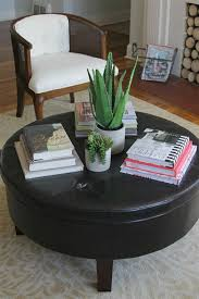 how to style a round coffee table decor fix