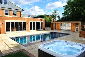 above ground pool with deck and hot tub. Outdoor Pool And Jacuzzi Above Ground With Deck Hot Tub