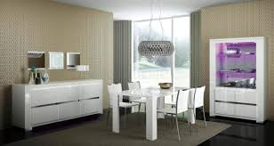 High Gloss Dining Table Elegance Dining Table In White High Gloss By Esf W Options