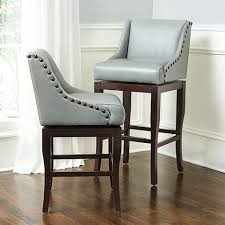 grey counter stools with nailheads. Brilliant With And Grey Counter Stools With Nailheads