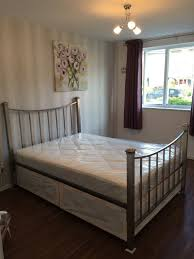 Marks And Spencer Bedroom Furniture Double Divan Bed Silver Metal Bed Frame Marks And Spencer In