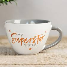 my fabulous friend mug my superstar sister mug
