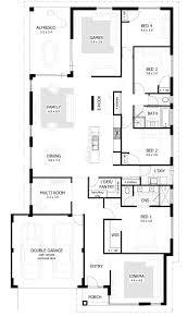 Bedroom House Plans  Home Designs Celebration Homes - Bedroom floor plan designer