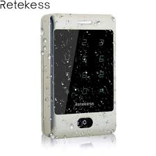Retekess T AC01 IP68 Waterproof RFID Access Control <b>Touch</b> ...