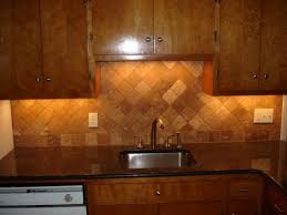 Travertine Kitchen Backsplash Kitchen Travertine Backsplash Home Design And Decor