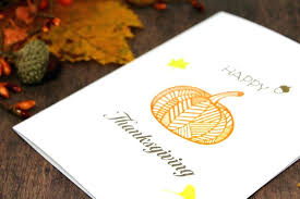 Thanksgiving Card Making Ideas Handmade Thanksgiving Cards Get