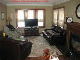 long living room with fireplace how to arrange furniture with long living room fireplace in center