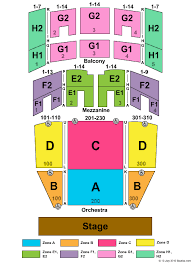 Music Hall Center Detroit Seating Chart Robinson Center Music Hall Seating Chart