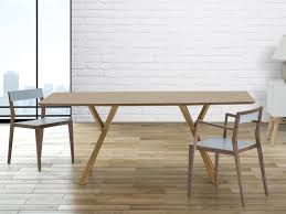 Tavoli Da Pranzo In Legno Design : Tavolo di design da pranzo in legno color pino cm
