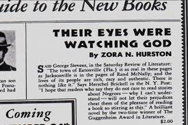 public reaction to their eyes were watching god english ela  public reaction to their eyes were watching god english ela media gallery pbs learningmedia