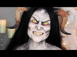 krus demon makeup tutorial