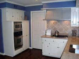 blue kitchen walls with white cabinets smart blue kitchen walls white cabinets grey ideas for repainting