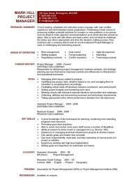 It Project Manager Cv Template, Project Management, Prince2, Cv in Agile  Project Manager Resume