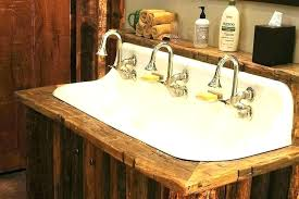 wood sink basin wooden bathroom basin cabinets solid wood sink units dark rustic ideas fabulous elegant