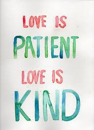 Love Is Patient Quote Beauteous Love Is Patient Love Is Kind Love Quotes Img Printable Love Is