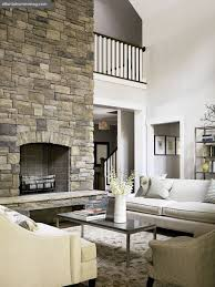 Tall Fireplace Screen Wood Post Rustic Ledge Stone Hanging Light Tall Fireplace