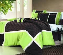 green and black comforter sets queen lime bedding sweetest slumber 2018 my new 0