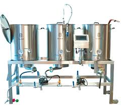 snless steel single tier homebrewing system