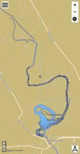 Lake Mcqueeney Fishing Map Us_aa_tx_mcqueeney_tx