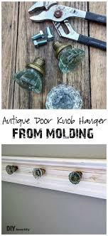 antique door knobs ideas. Antique Door Knob Hanger (One Room Challenge: Week 5) Knobs Ideas S