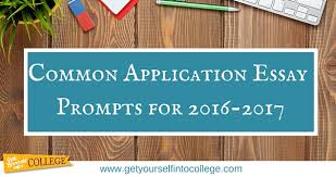 Common Essay Topics Common Application Essay Prompts For 2016 2017dr Jennifer B Bernstein