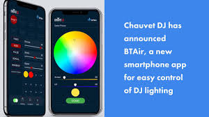 smartphone controlled lighting. Chauvet DJ Launches BTAir, An App Controlled Bluetooth Lighting System Smartphone G