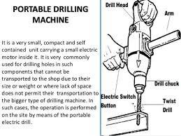 hand drilling machine. bench drilling machine hand