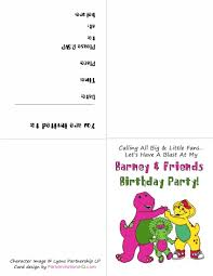 barney party invitation template diy free barney memory game justlovedesign justlovedesign blog