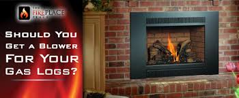 Would You Like Blower On Your Gas Logs  The Fireplace PlaceGas Fireplace Blower
