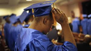 what does your high school gpa say about your chances of success inmate jamar allah flips his tassel as a graduate before receiving his high school ged
