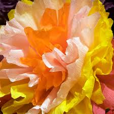 Make Crepe Paper Flower Crepe Paper Flowers A Tutorial Piecedgoods